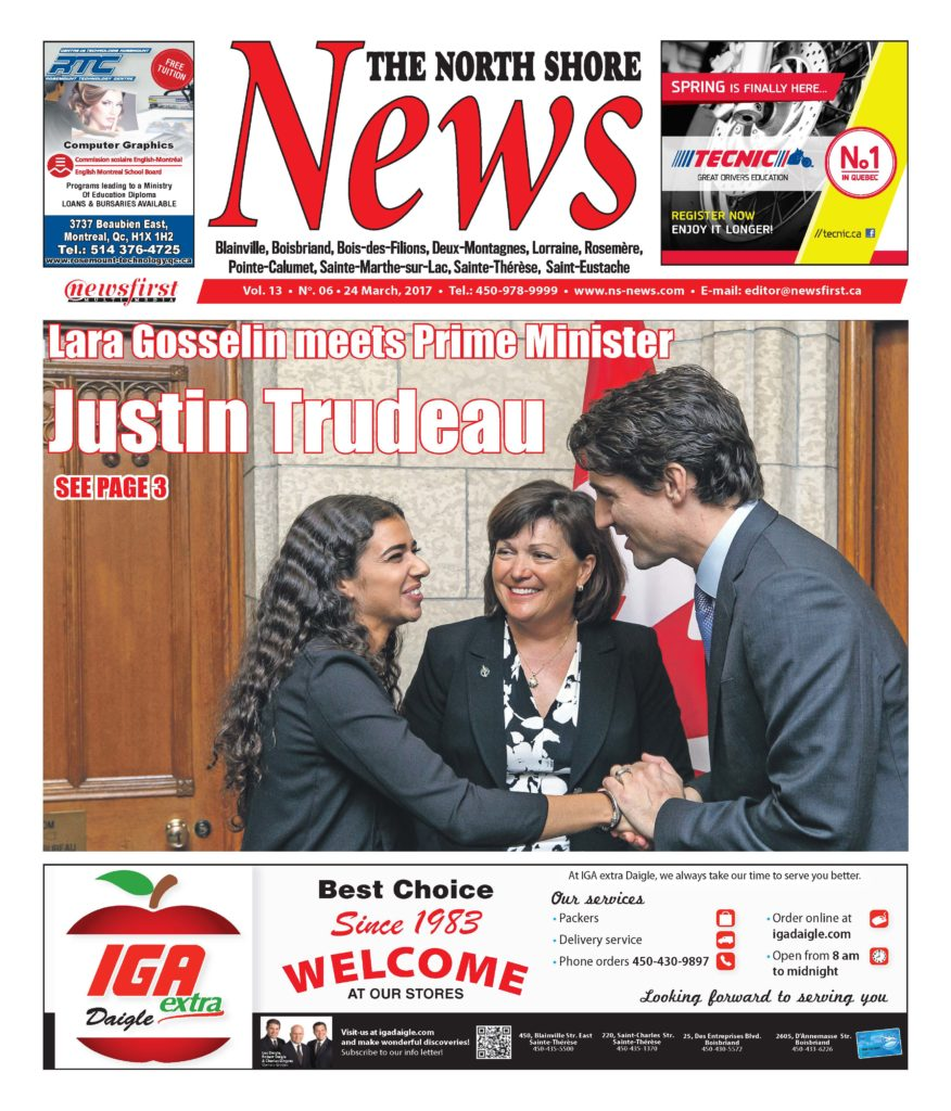 Front page image of the North Shore News Volume 13-6