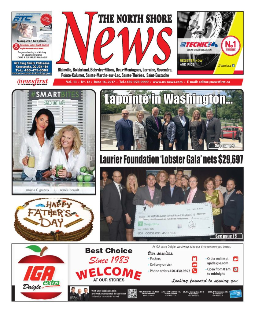Front page image of the North Shore News Volume 13-12