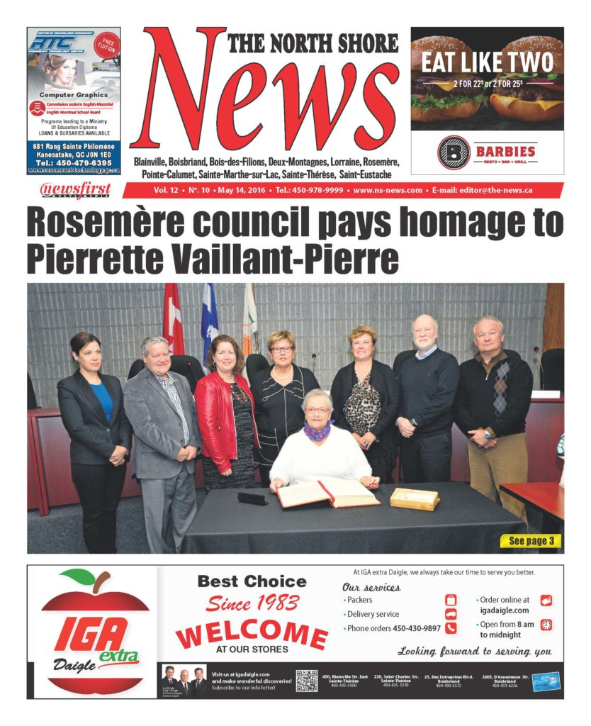 Front page image of the North Shore News Volume 12-10
