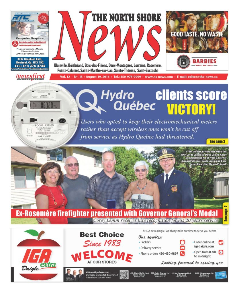 Front page image of the North Shore News Volume 12-15