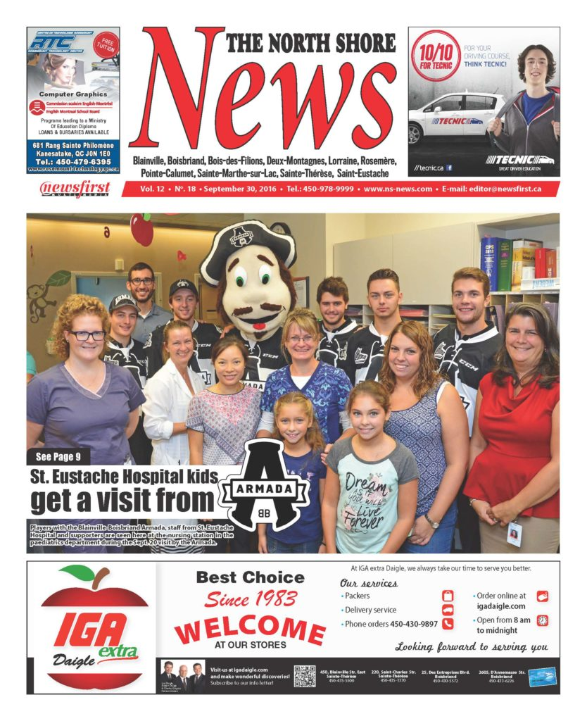 Front page image of the North Shore News Volume 12-18