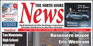 Front page image of the North Shore News 14-07