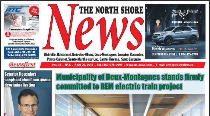 Front page image of the North Shore News 14-08