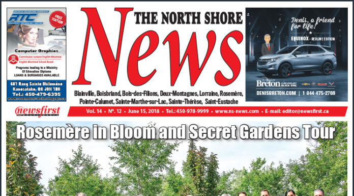Front page image of the North Shore News 14-12