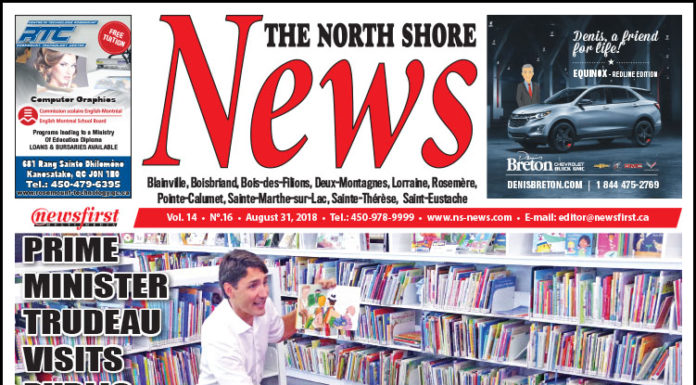 Front page image of the North Shore News 14-16