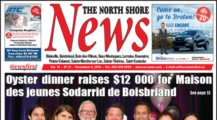 Front page image of the North Shore News 14-21.