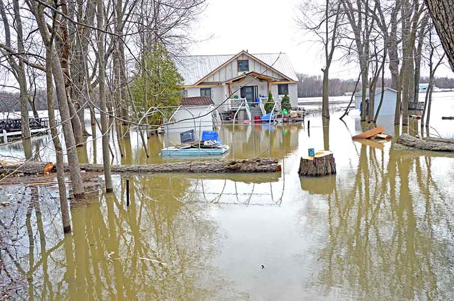 Record-setting floods assail North Shore and surrounding regions
