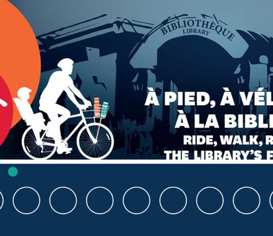 'Ride, Walk, Run,' the library's fun!