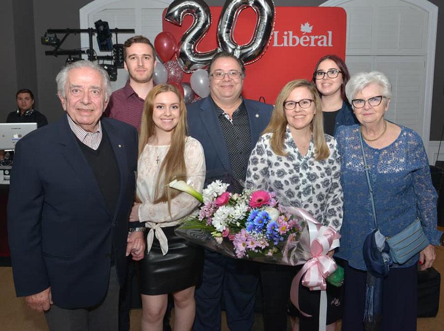 Thérèse-De Blainville Liberal MP Ramez Ayoub marks 20th year