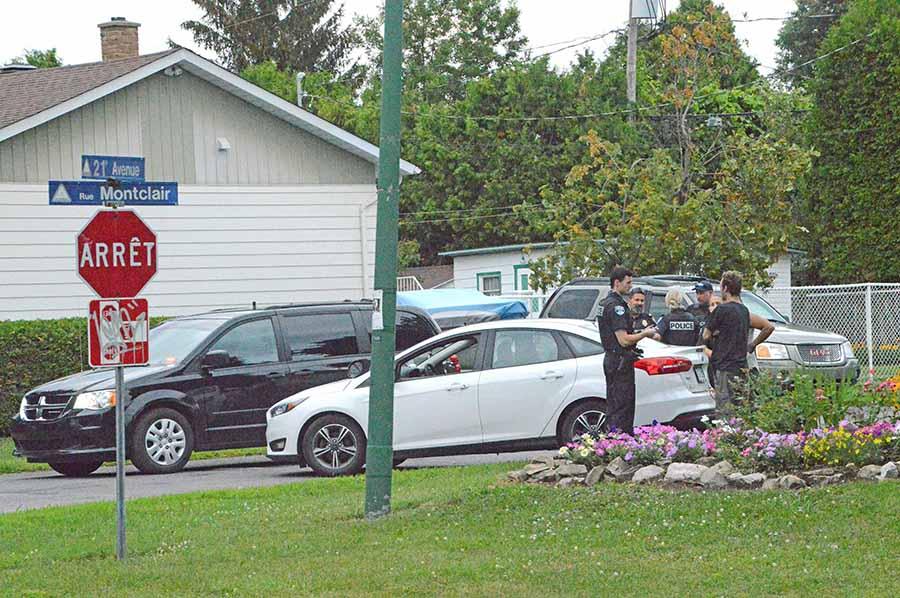 Deux-Montagnes Police respond to 'road rage' incident