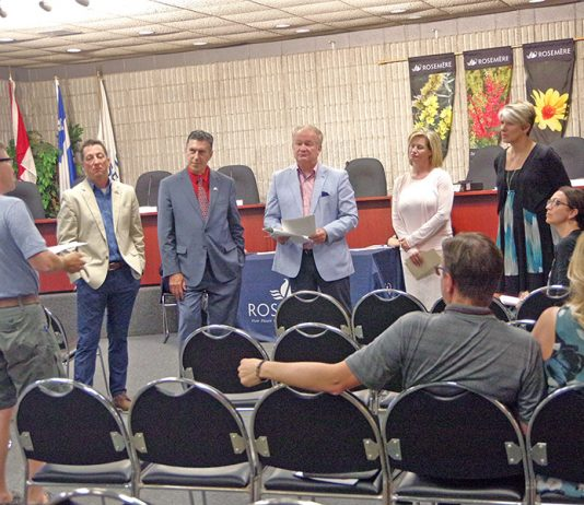 Town of Rosemère holds August council meeting