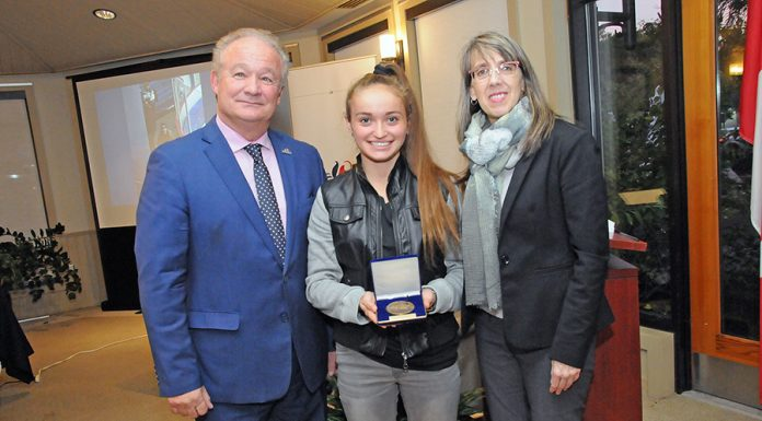 Local teen honoured by town for her bravery