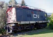 DM's historic CN 'boxcab electric' relocating to a new spot