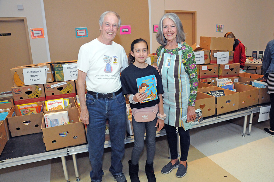 Devoted readers flock to annual Lion's Club Book Fair