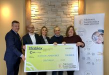 Stablex donates $100,000 to Moisson Laurentides